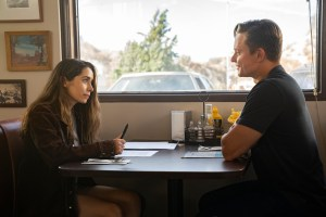 Cristin Milioti and Billy Magnussen in 'Made for Love'