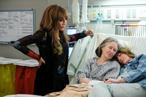 Katey Sagal, Mary McDonnell, and Daniella Garcia in 'Rebel'
