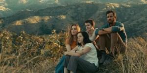 Justin Theroux, Melissa George, Logan Polish, and Gabriel Bateman in 'The Mosquito Coast'
