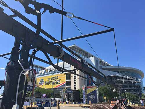 Jimmy Jib Crane Production for Events in Houston, TX