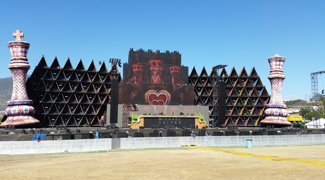 Labyrinth Stage at Nocturnal Wonderland 20 Year Anniversary