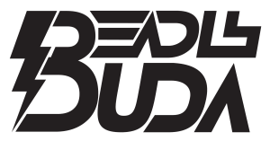 Deadly Buda Logo with transparent background.