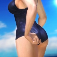 3D DoA girl show sexy swimsuit