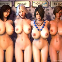 Christie Allen, Lisa ana another feew sluts show their huge MILF boobs