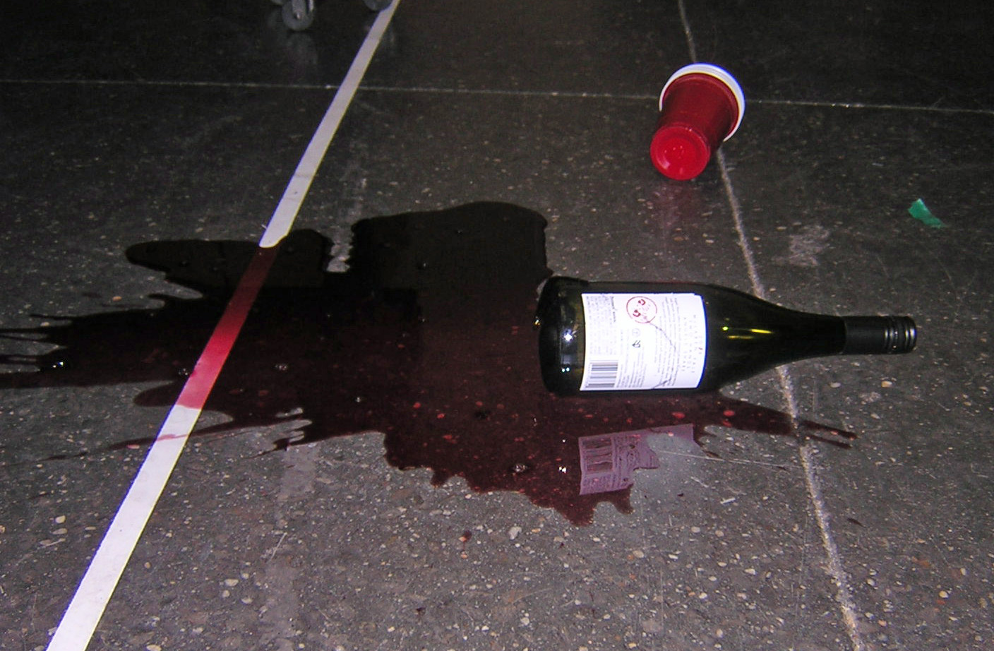 No use whining over spilled wine