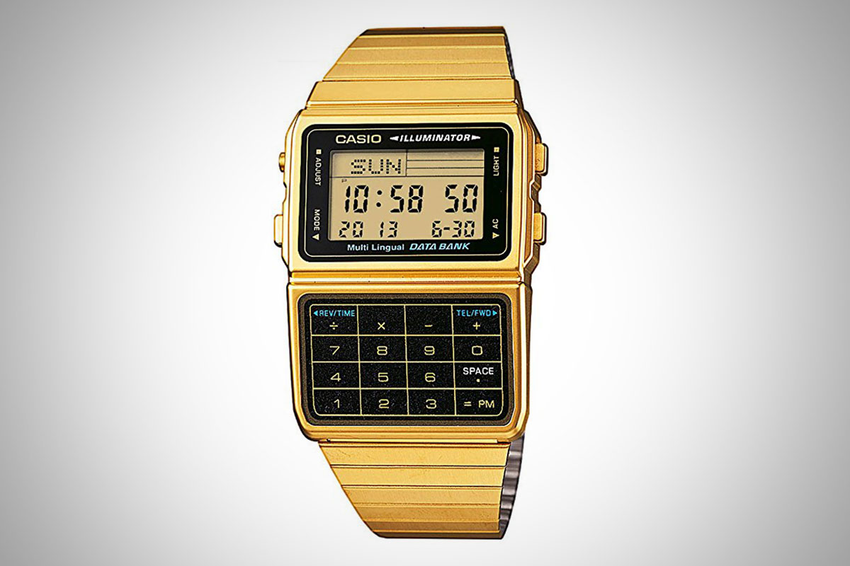 Casio Gold Calculator Watch