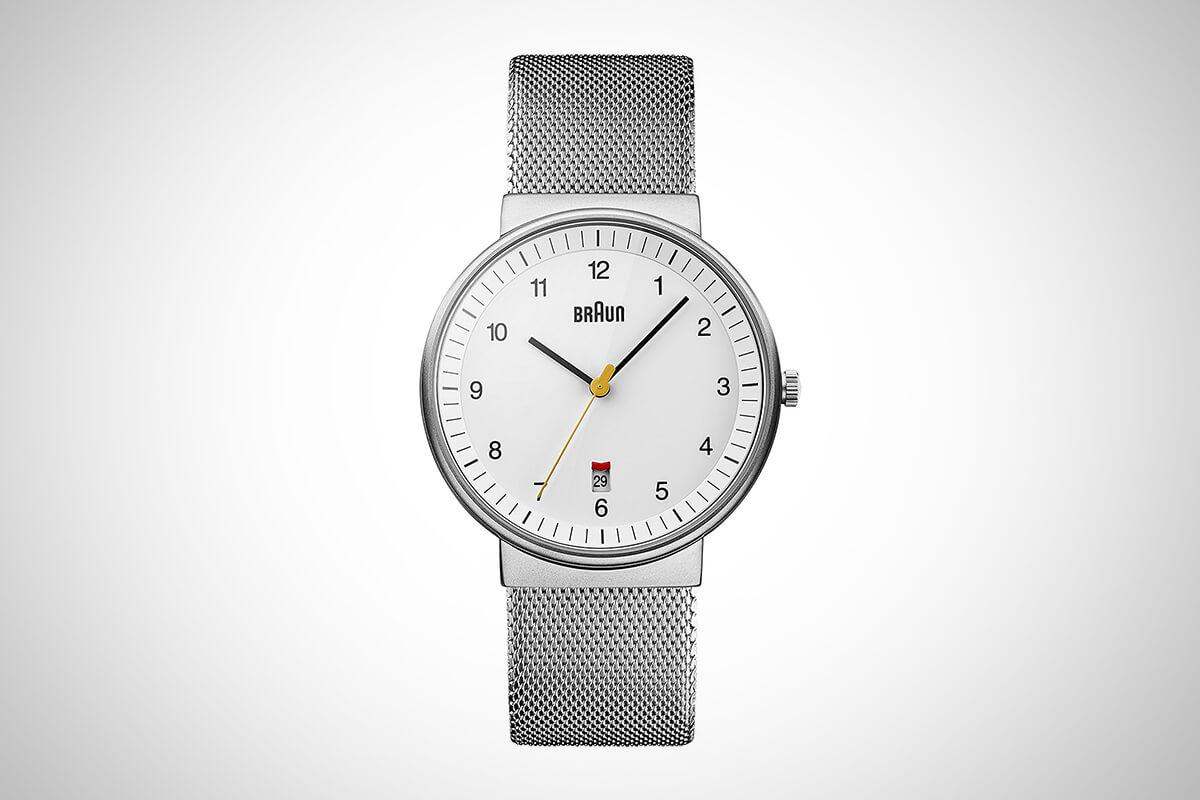 Braun BN0032 Classic Mesh Watch