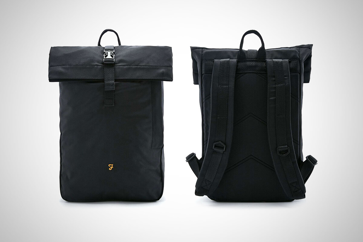 Farah Millen Roll-top Backpack
