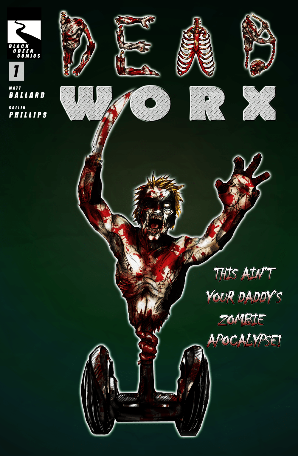 The most awesome zombie comic on the internet!