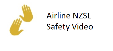 Airline NZSL Safety Video