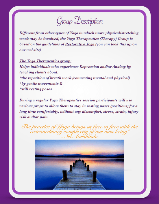 Yoga Therapy Group - Page 2 Back