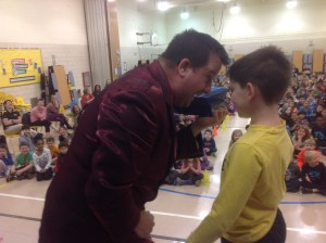 "Learn why over 1500 schools in 45 states have already hosted Sams spectacular school assembly ""DEAFinitely Magic"""