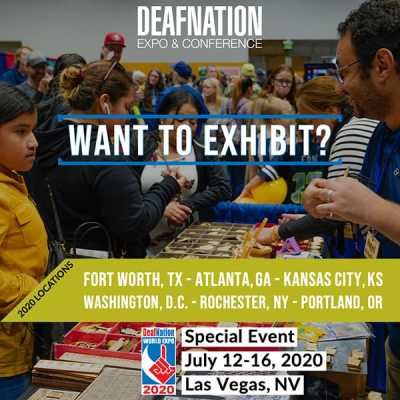Exhibit with DeafNation