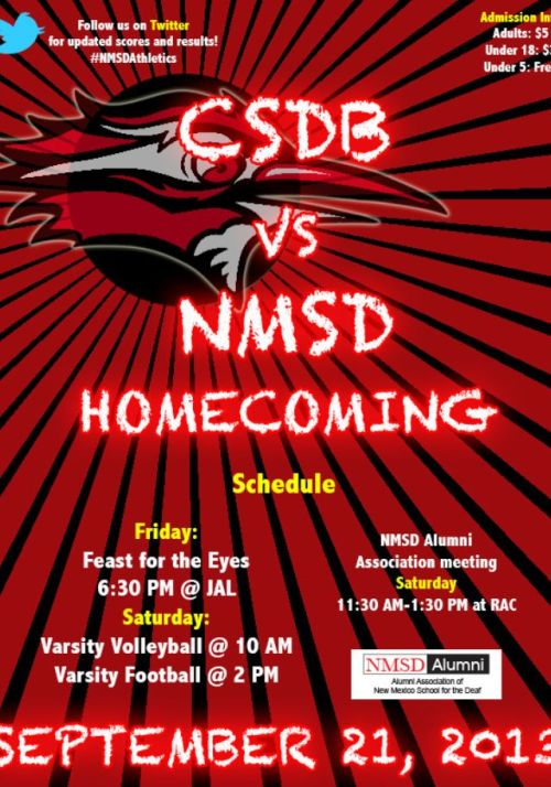 NMSD Homecoming flyer 2013