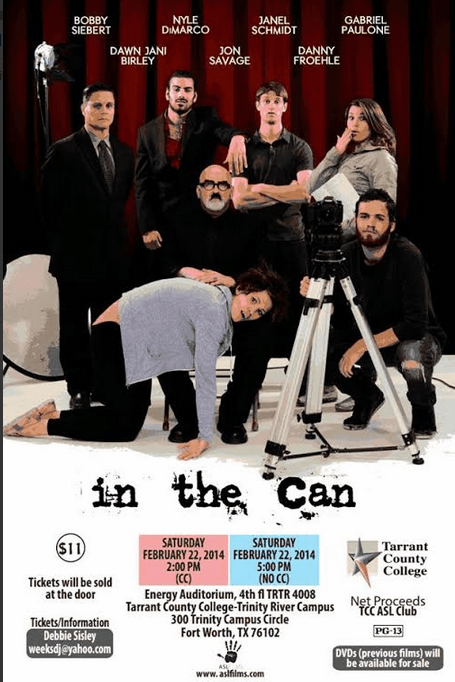 In the Can movie poster DFW
