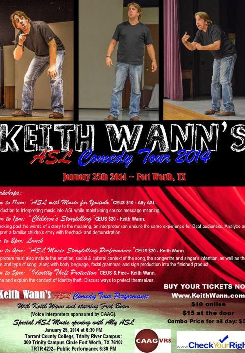 Keith Wann Fort Worth 2104
