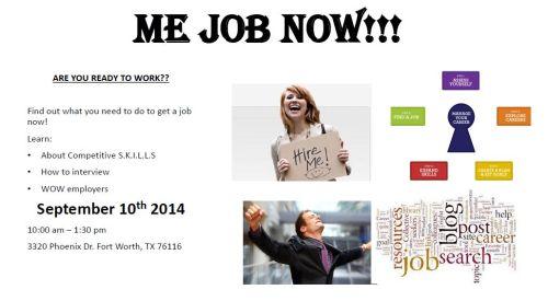 ME JOB NOW