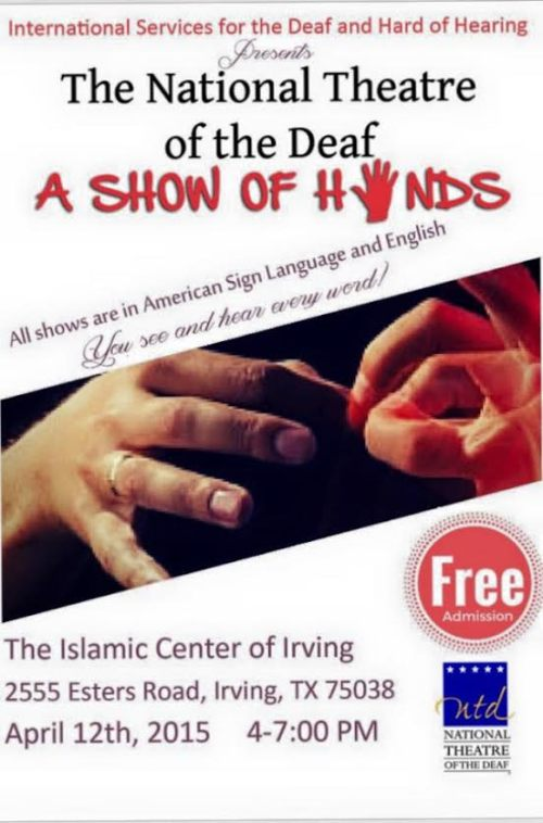 NTD A Show of Hands flyer