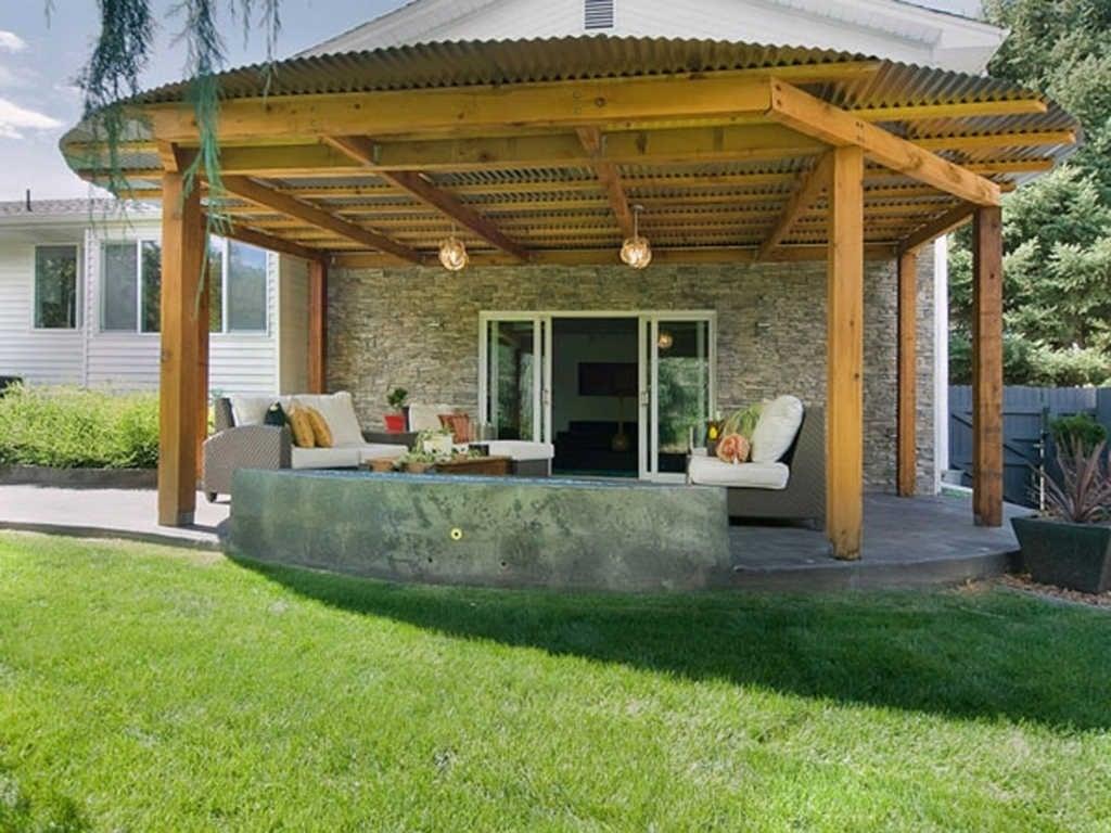 90 Trend Desain Atap Teras Rumah Sederhana Terbaik Masa Kini Deagam Design
