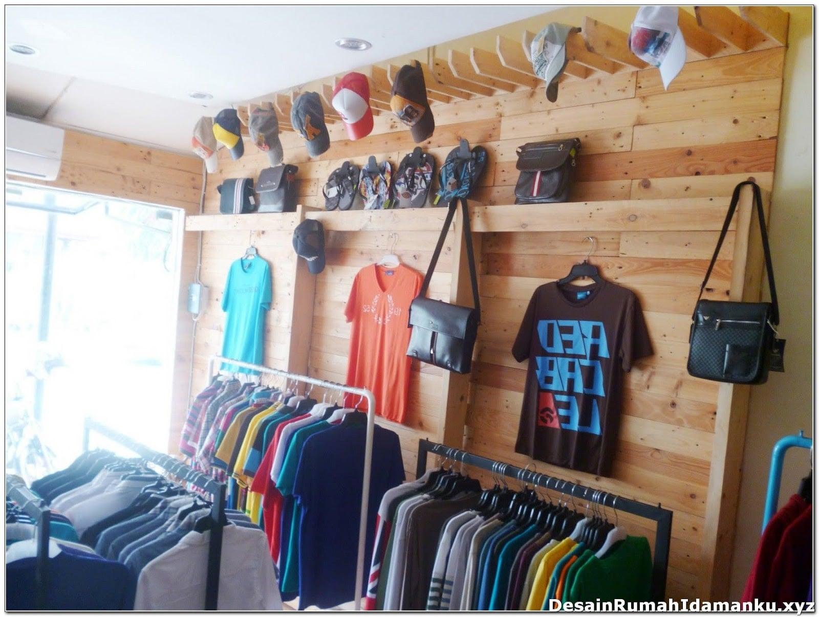 Penataan Toko Baju Minimalis Cek Bahan Bangunan Desain toko baju
