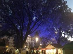 Las Ramblas at night