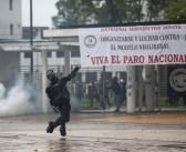 En una Batalla campal se convirtió la huelga general en Colombia