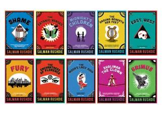 A few of Rushdie's books