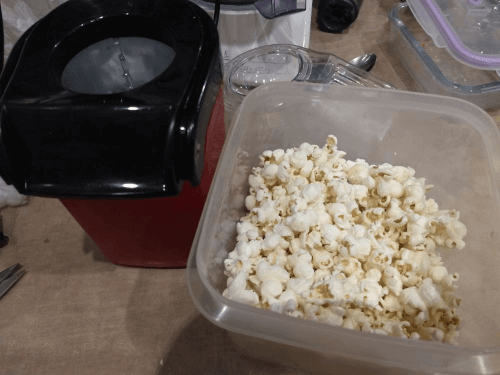 Hot Air Popper Popcorn Maker (50% OFF) photo review