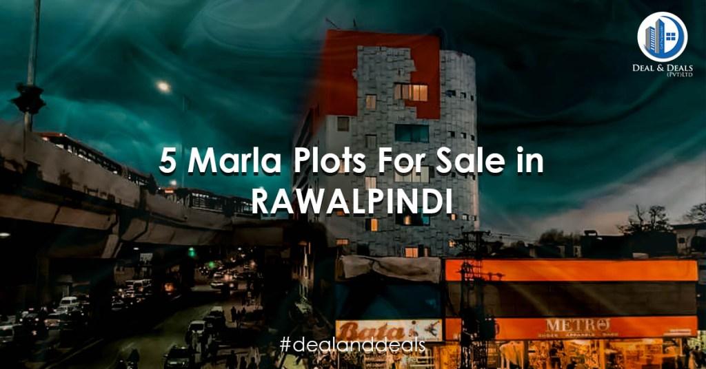 5 Marla Plots For Sale in Rawalpindi