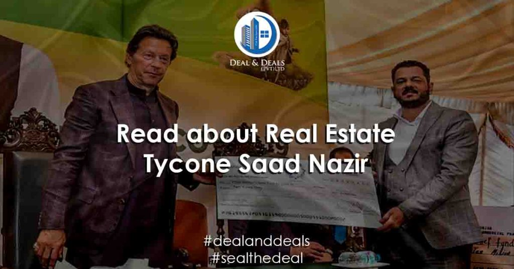 Read about Real Estate Tycone Saad Nazir