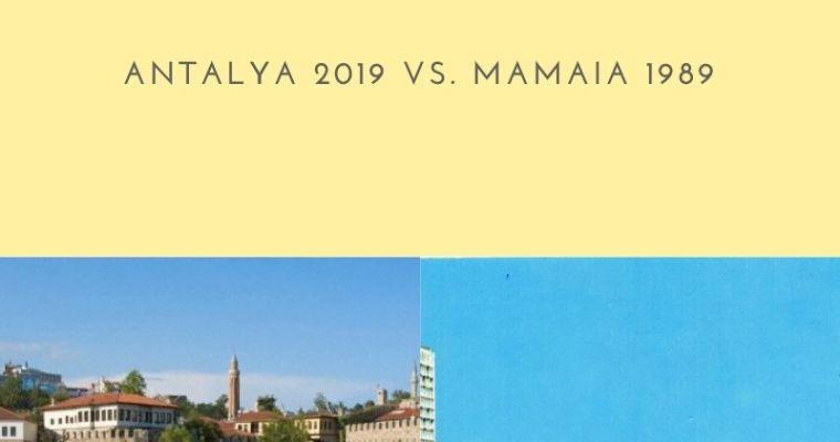 Early Booking vs. sindicat. Antalya 2019 vs. Mamaia 1989
