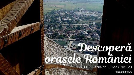 Descoperă orașele României prin intermediul localnicilor