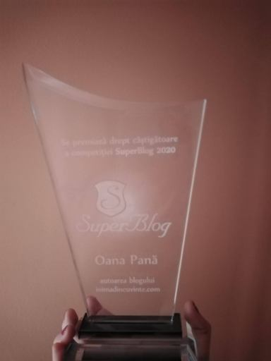 Trofeu SuperBlog Oana Pană