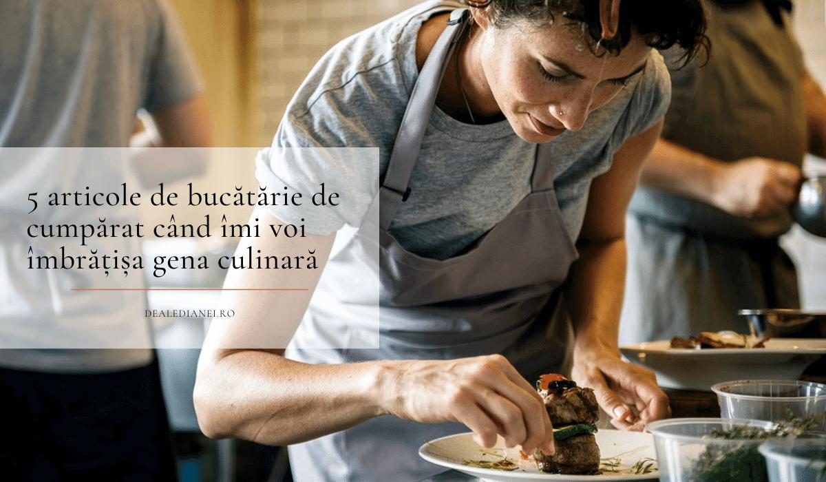 5 articole de bucătărie