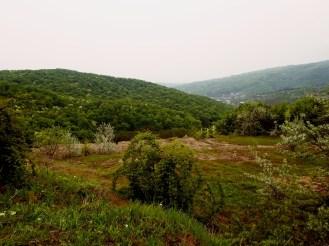 Panorama din zona minei de petrol