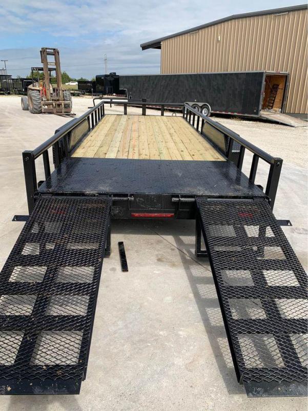2021 legacy equipment trailer 83x20 14k