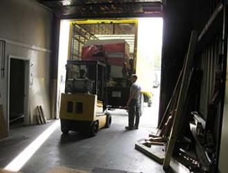 Old Production Facility Loading
