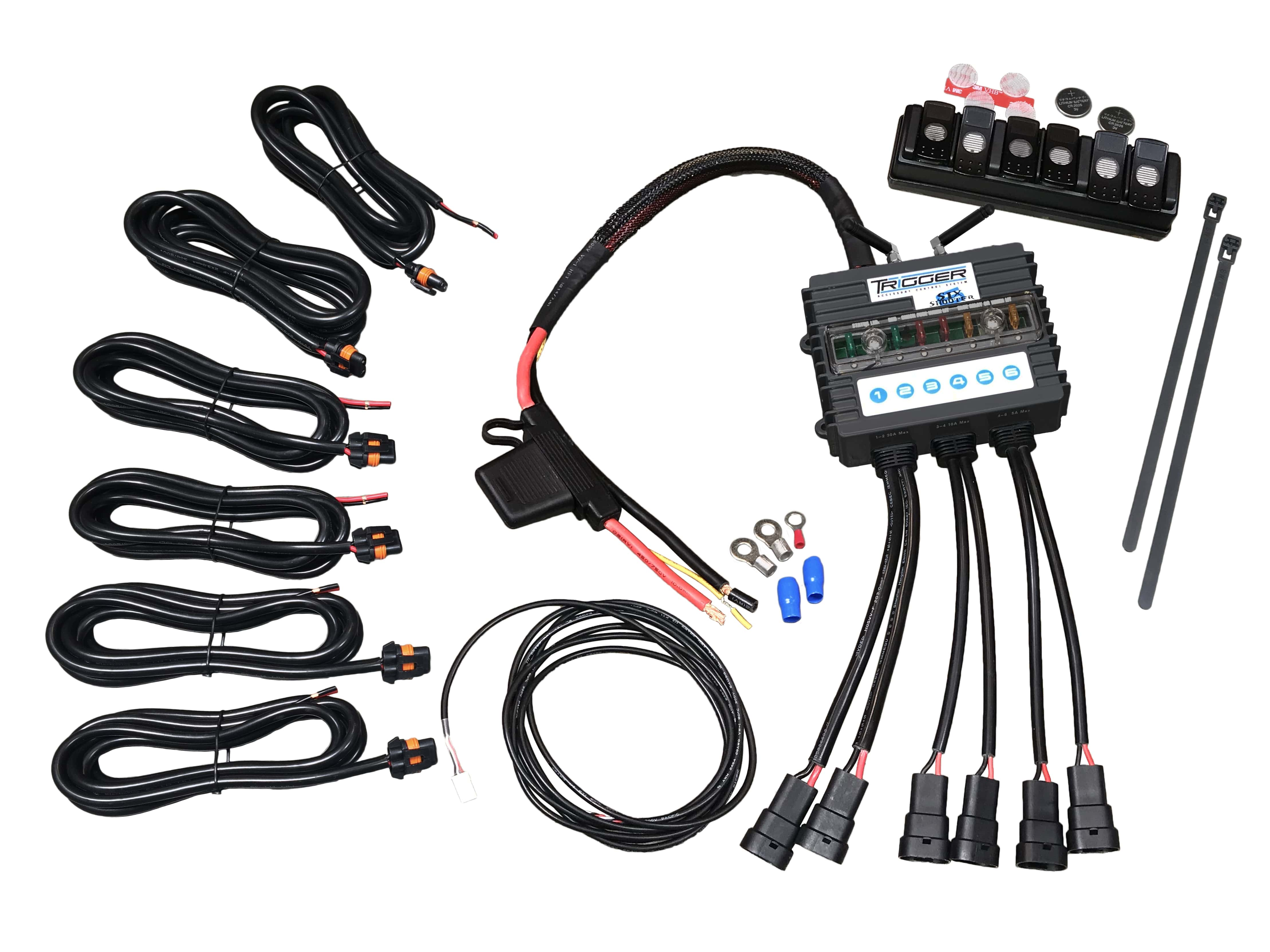 Advanced Accessory Concepts Relay System 6 Switch 6