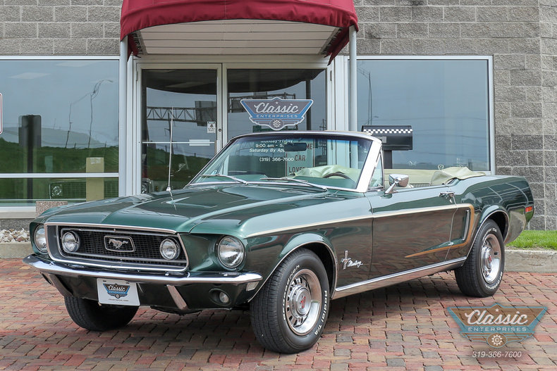 1968 Ford Mustang   Duffy s Classic Cars 1968 Ford Mustang