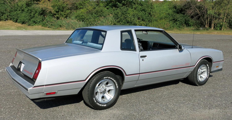 1986 Monte Carlo Ss Wheels Grey