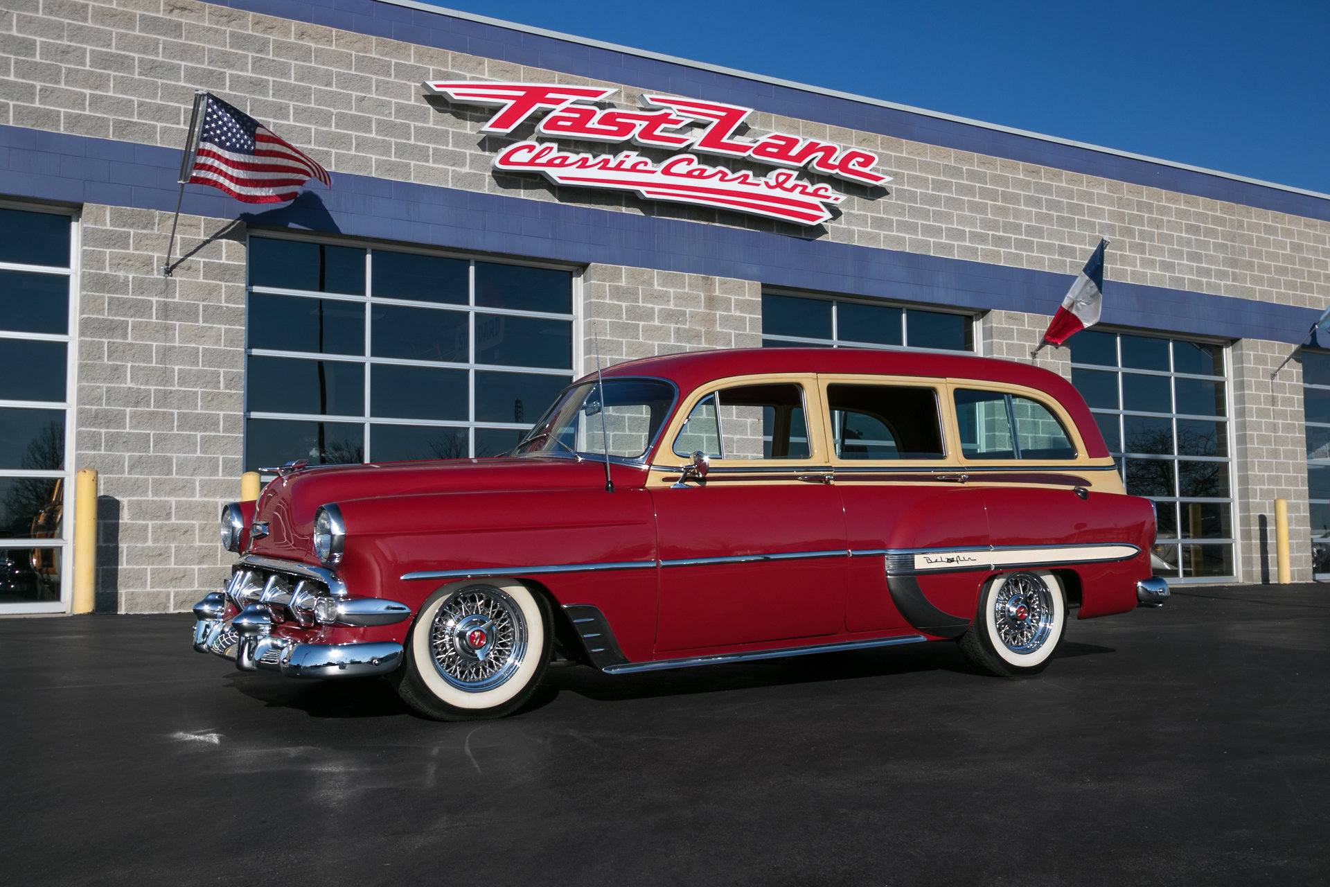 1954 Chevrolet Bel Air   Fast Lane Classic Cars 1954 Chevrolet Bel Air