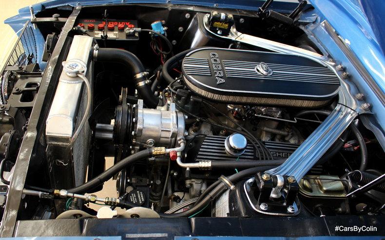1967 Mustang Engine Bay