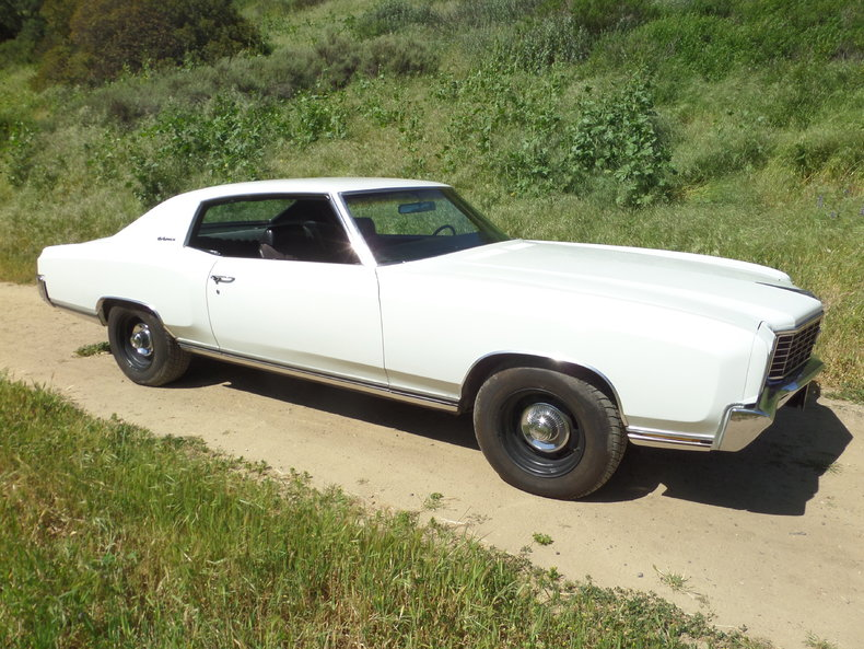 1972 Chevrolet Monte Carlo   Laguna Classic Cars   Automotive Art 1972 Chevrolet Monte Carlo