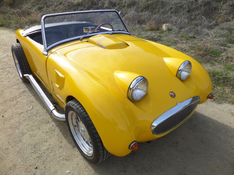 1961 Austin Healey Sprite   Laguna Classic Cars   Automotive Art 1961 Austin Healey Sprite