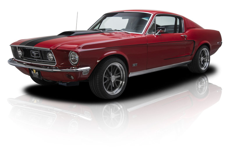 135795 1968 Ford Mustang   RK Motors Classic and Performance Cars     1968 Ford