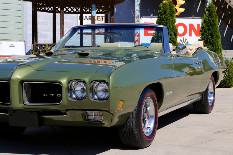 1970 Pontiac GTO   Classic Cars   Muscle Cars For Sale in Knoxville TN     1970 Pontiac GTO