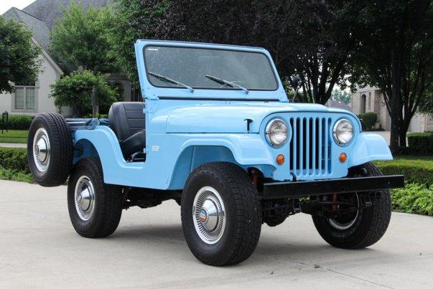 Kreampuff Kaiser: Restored 1960 Jeep CJ5