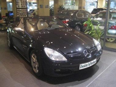 Mercedes SLK 200 compresor
