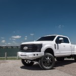 2017 Lifted 4x4 Ford F 350 Platinum Dually White Truck Build Rad