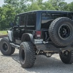 Jeep Wrangler Unlimited Moab Lifted With 37 Inch Tires And Fuel Trophy Wheels